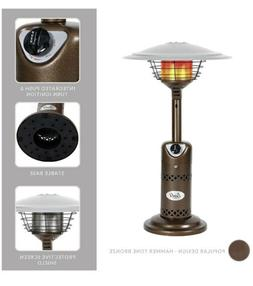 In Hand BALI OUTDOORS Patio Heater, Outdoor Propane Table To