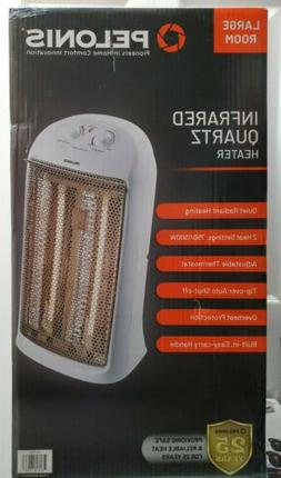 NEW Pelonis Infrared Quartz Heater For Large Room HQ-1000 Ad