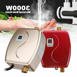 Instant Electric Hot Water Heater Kitchen Bathroom Home Inst
