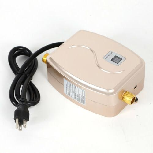 110V Electric Tankless Water Shower Bathroom USA
