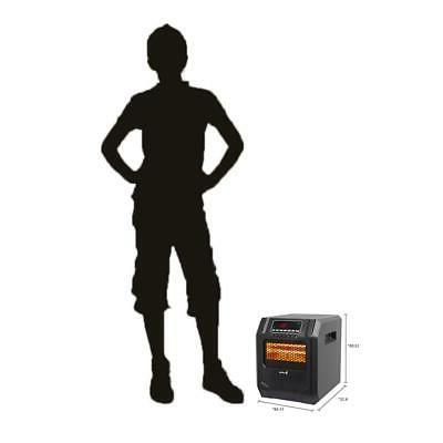 Portable Infrared Space Heater Remote
