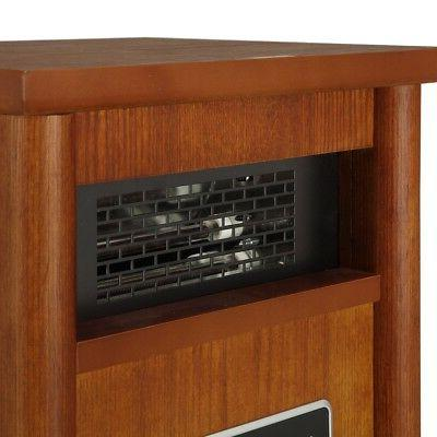 Homegear 1500 Electric Heater Brown +Remote