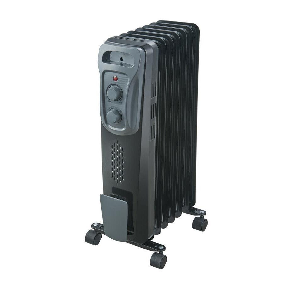 PELONIS 1500-Watt Oil-filled Radiant Compact Electric Space