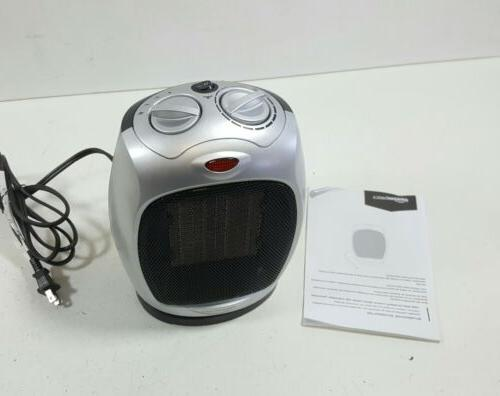 1500 watt oscillating ceramic space heater