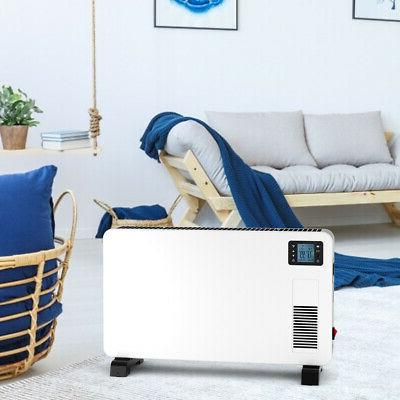 1500W Convector Heater w/Remote Control  Freestanding & Wall