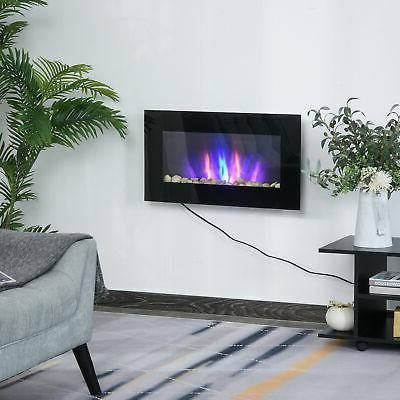 1500W Electric Fireplace Heater LED Flame, 7