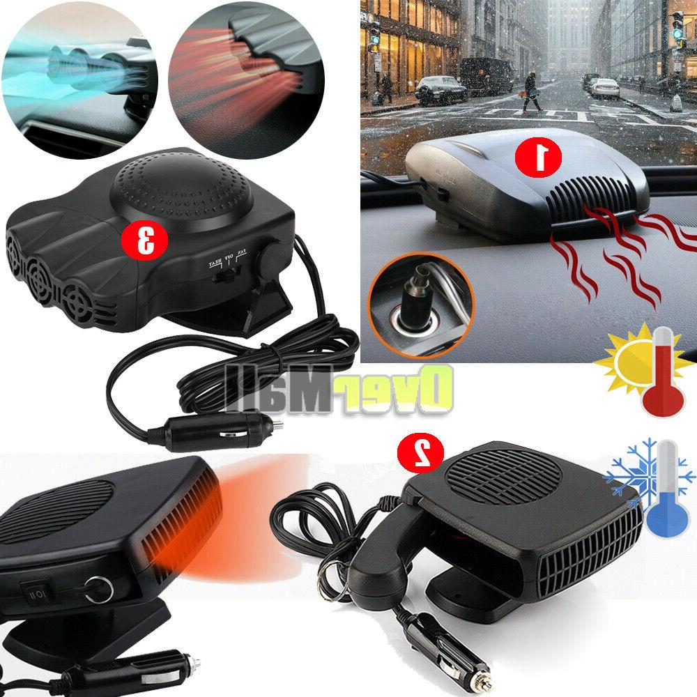 150w 200w portable car ceramic heating cooling