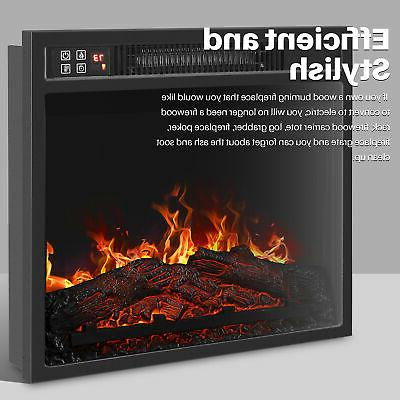 "18""Embedded Fireplace Insert 1400W"