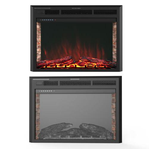 """32"""" Fireplace Heater Wall Mounted w/ Remote"""