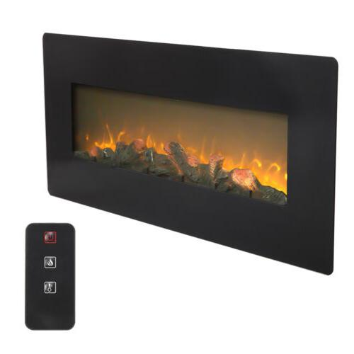 50 wall mounted electric fireplace heater multicoloured