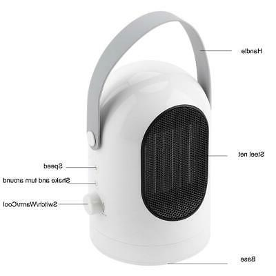 600W Heater & Home Travel Office Conditioner