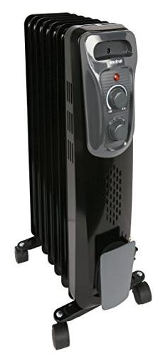 Hurricane Radiant Heater | Analog Heater w/ Adjustable Therm