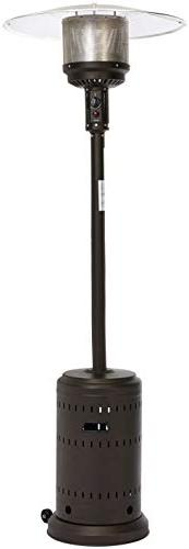 AmazonBasics Commercial Patio Heater, Sable Brown