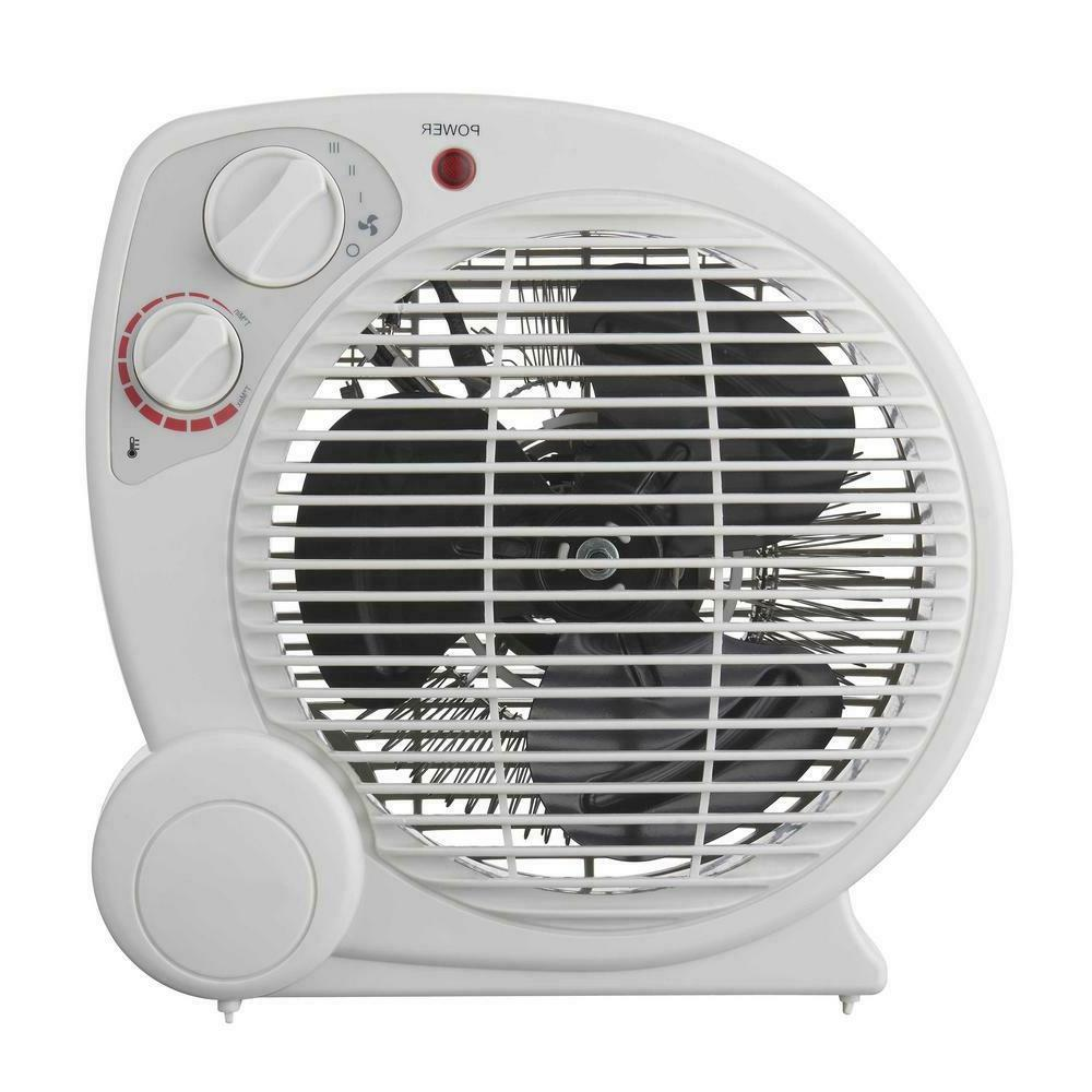 Electric Fan Forced Portable Heater 1500-Watt