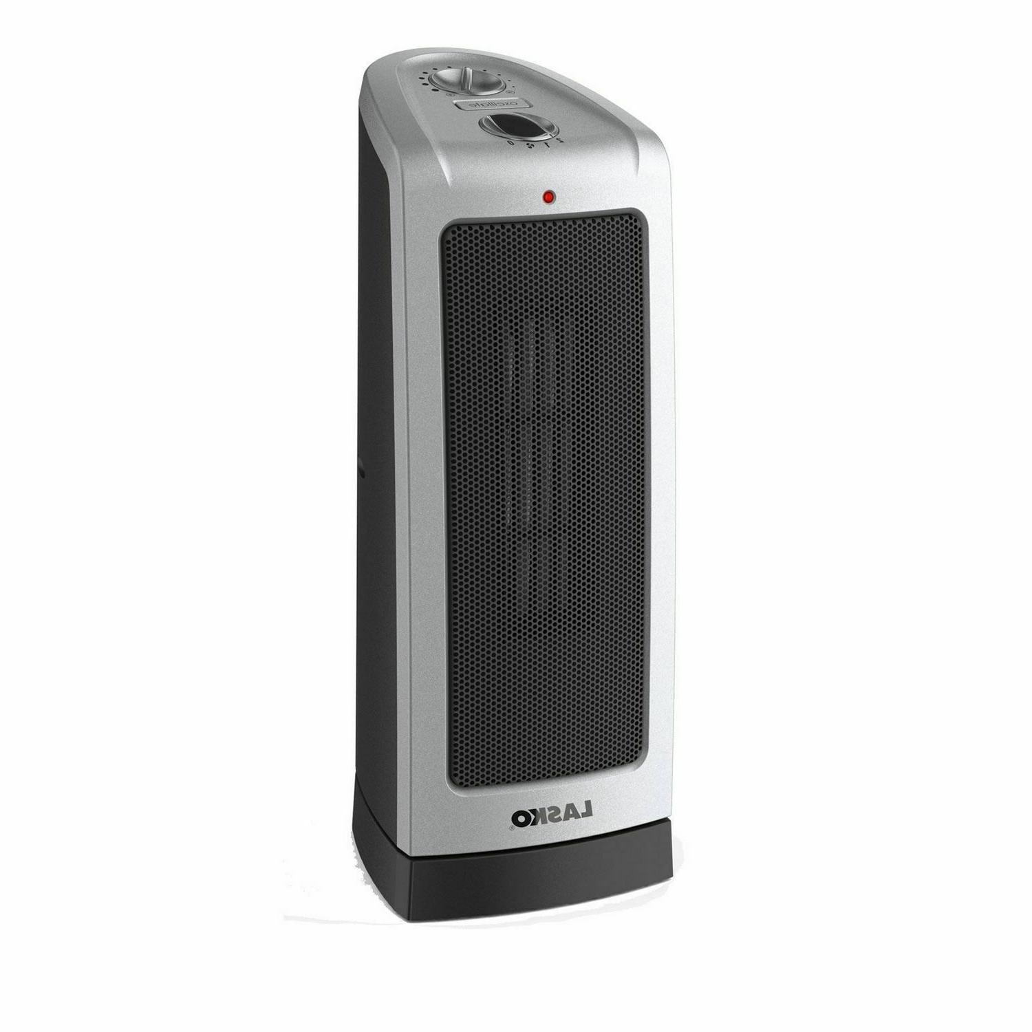 electric oscillating ceramic tower space heater 1500