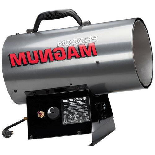 magnum forced air propane heater 60 000