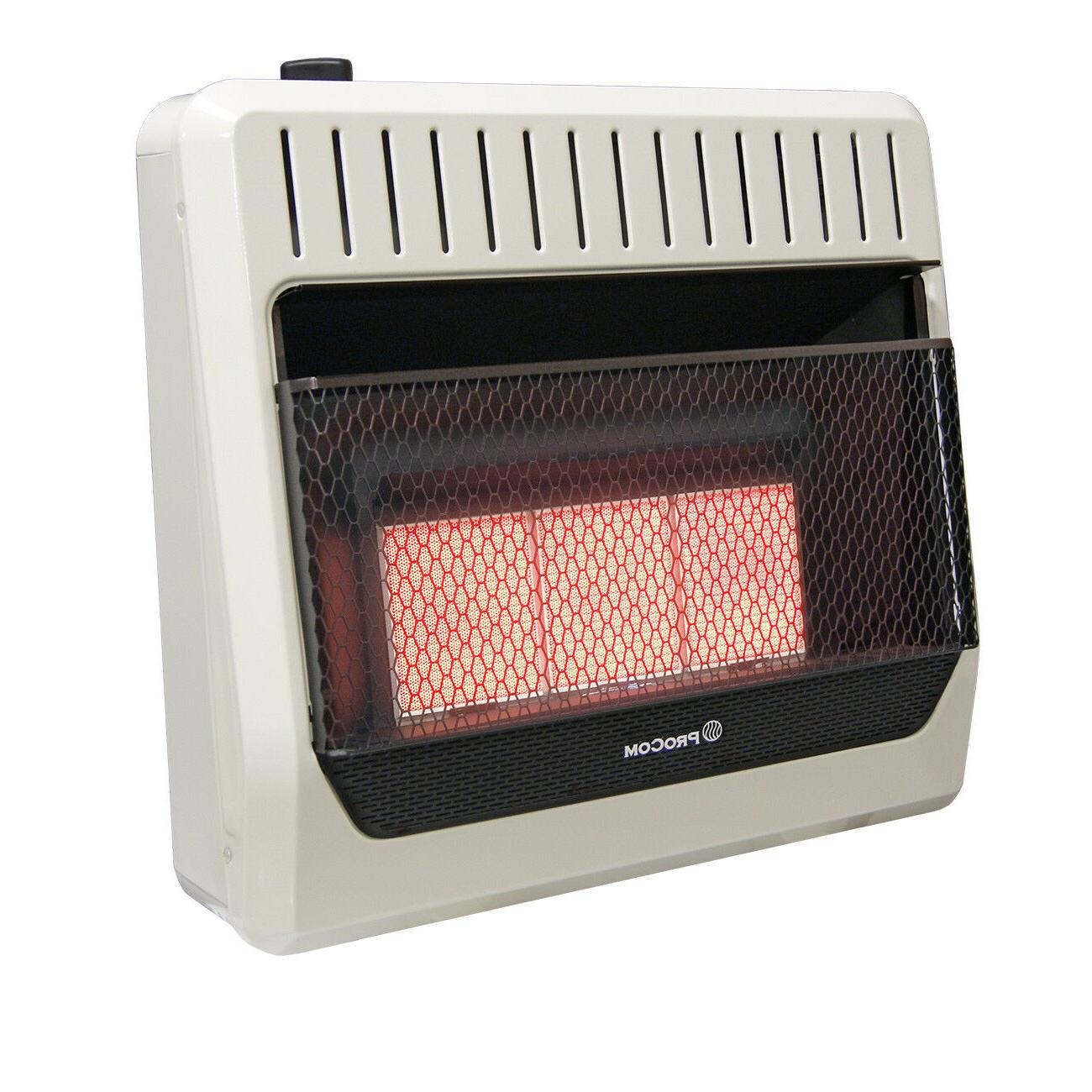 mn3phg natural gas ventless infrared plaque heater