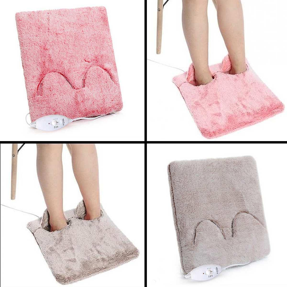 Portable Electric Hands Feet Warmer Blanket Pad Stove Sofa