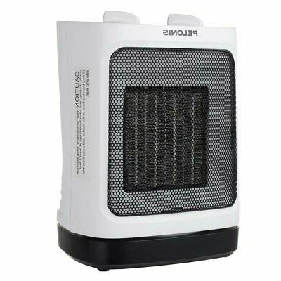 PELONIS Portable Ceramic Space Heater Small & Adjustable...