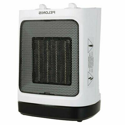 PELONIS Portable Ceramic Space Heater Small Rooms