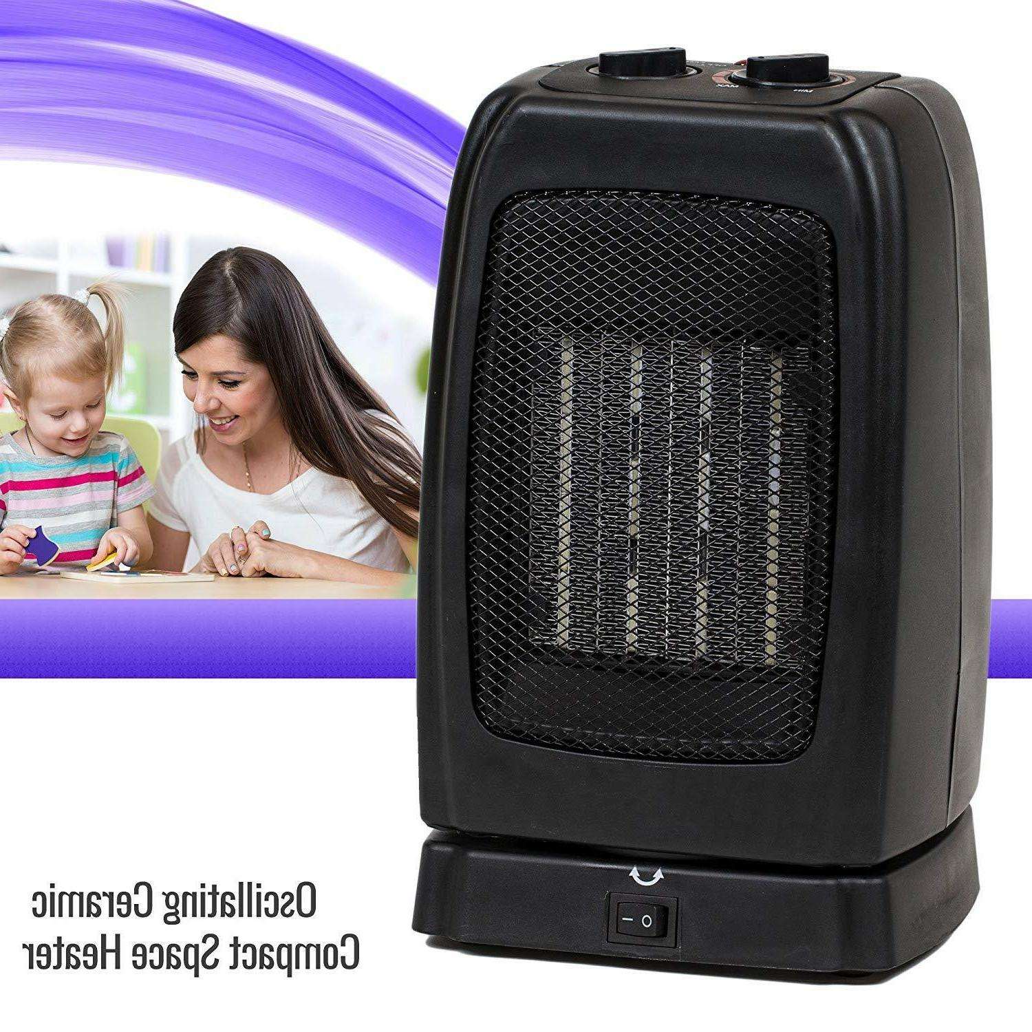 portable space heater electric oscillating ceramic room