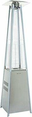 AmazonBasics Pyramid Patio Heater, Stainless Steel