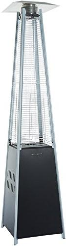 AmazonBasics Pyramid Patio Heater, Black