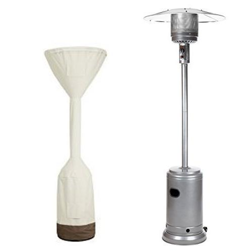 slate grey commercial patio heater