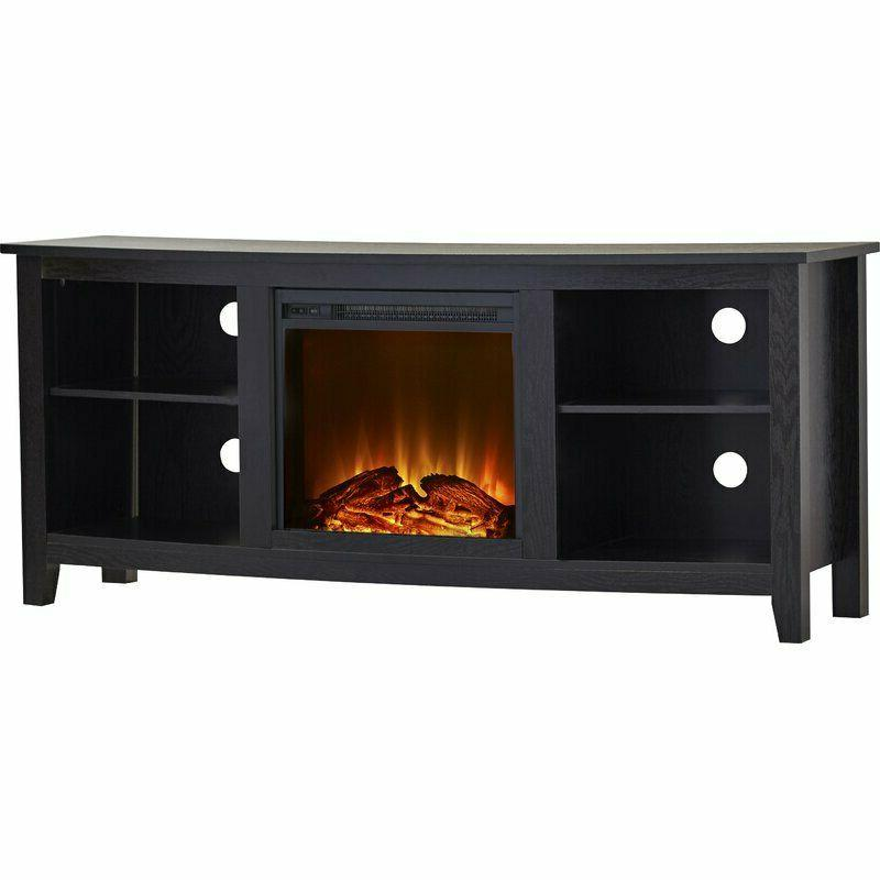 Wood Stand Fireplace Bookcase