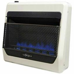 Lost River  Ventless Blue Flame Natural Gas Space Heater, Ve