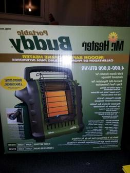 Mr Heater Buddy Heater **RARE** GREEN color.. new in the box
