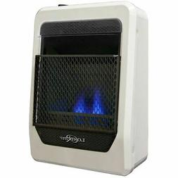 Lost River Natural Gas Ventless Blue Flame Gas Heater, Vent