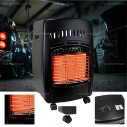 NEW Propane Gas Portable Heater 18000 BTU Indoor Locking Cas