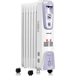 Costway Oil Filled Radiator Heater Portable Electric Home Ro