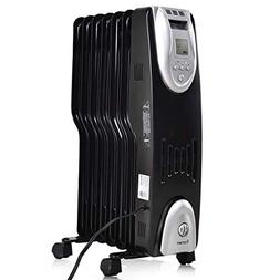 COSTWAY Oil Filled Radiator Heater Portable Electric Whole R