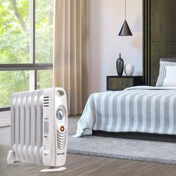 Oil Filled Radiator Heater room Portable Space Heater with A