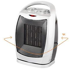 Oscillating Space Heater – Forced Fan Heating with Stay Co
