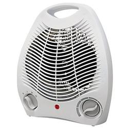 Portable Electric Fan Compact Heater with Adjustable Thermos
