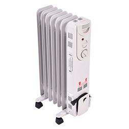 COSTWAY Portable Space Heater Electric Oil Filled Radiator 5
