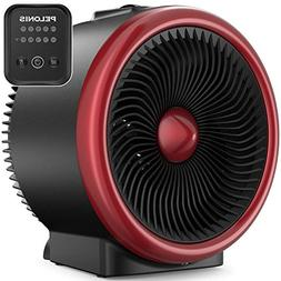 PELONIS PSH750R Space Vortex Heater with Air Circulator Fan,