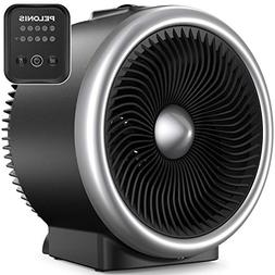PELONIS PSH750S Space Heater with Air Circulator Fan, 2-In-1