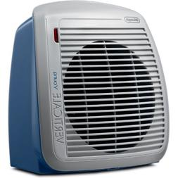 DeLonghi QUIET 1500-Watt Fan Heater with 2 Heat Settings and