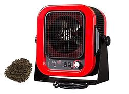RCP402S Cadet Space Heater, 20 Amp, 4000w, Portable with Bra