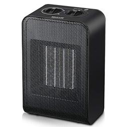Soulcker Space Heater, Portable Heater With 750W/1500W Power
