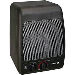 Space Heater Portable, Optimus H-7000 Black Small Electric P