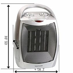 Space Heaters For Indoor  750W/1500W Quiet Adjustable Thermo