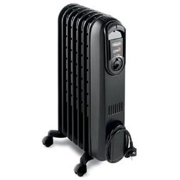 DeLonghi TRV0715TB Vento Oil-Filled Radiator with High-Speed