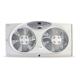 Bionaire Window Fan with Twin 8.5-Inch Reversible Airflow Bl