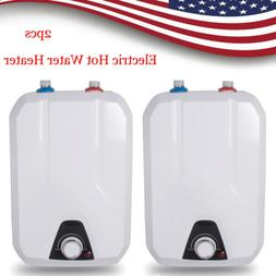 USA 2× Instant Electric Indoor Water Heater For Kitchen Bat
