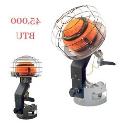 Portable Outdoor Propane Heater w/ Adjustable 360° Burner H